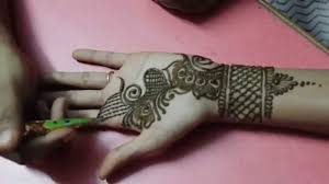 Front Hand Mehndi Design Simple Henna For Wedding Easy Mehndi Design In Front Hand