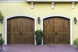 swing carriage garage doors