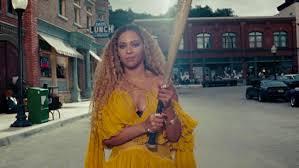Beyonce Lemonade Dress Designer Beyonces Lemonade Stylist On Yellow Roberto Cavalli Dress