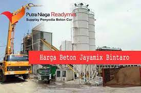 Beton ready mix adalah beton yang dibuat atau pencampuran bahan materialnya di lokasi perusahaan batching plan. Harga Jayamix Bintaro Harga Beton Cor Ready Mix Bintaro 2020 Putra Niaga Readymix