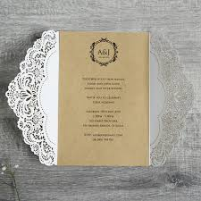 Wedding Invitation Folder Diy Rustic Romance Wedding Invitations Folder Only