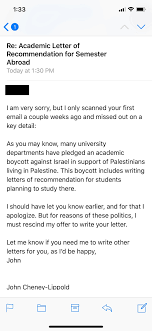 Write A Recommendation Letter For A Student University Of Michigan Professor Refuses To Write Recommendation