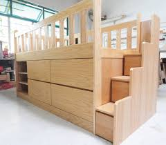 kids bedroom furniture singapore. Custom Kids Furniture Small Project Carpentry In Singapore Loft Bed With Storage. Inside House Decorating Bedroom