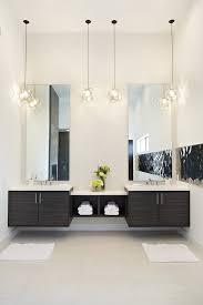 modern bathroom double sinks. Separate Vanities Bathroom Contemporary With Two Sinks Top Tops Modern Double