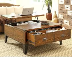 raising coffee table lift top coffee table plans
