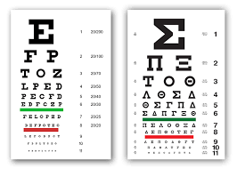 Eye Chart Typeface Typography Issue Journal Of Business Design