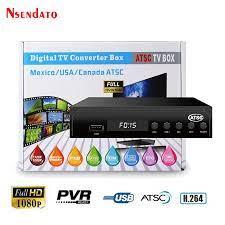 ATSC TV BOX Terrestrial 1080P HD MPEG4 Youtube Digital Receptor satellite  Decoder TV Receiver Converter for USA/Mexico/Canada|Satellite TV Receiver