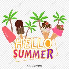 無料ダウンロードのためのこんにちは夏夏の看板 夏休み 夏 こんにちはpng