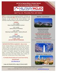 Military Mojo Job Fair