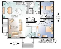 3 Bedroom Open Floor House Plans Awesome Design Ideas
