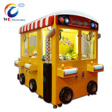 Claw Vending Machine Gorgeous Wangdong High Quality School Bus Toy Claw Vending Machine Toy Crane