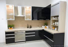 Awesome Modern Black Kitchen Cabinets Beautiful Decorating Home ...