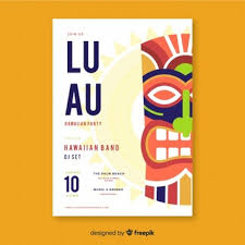 Luau Flyer Luau Flyer Vectors Photos And Psd Files Free Download
