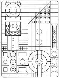 Small Picture Printable Coloring Pages Geometric Patterns