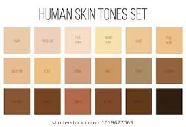 Skin Shades Chart Skin Undertones Chart Tone Images Stock Photos Vectors Off