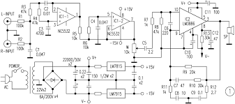 super bass amplifier schematic diagram audio schematic super bass amplifier schematic diagram