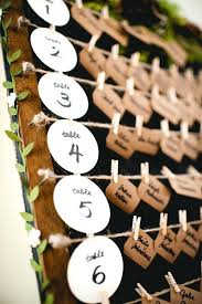 Table Number Chart Wedding Wedding Table Number Ideas You Can Also Try Something