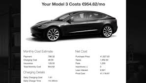Tesla Calculator Estimates The Monthly Costs Of Owning A