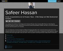University Of Houston Web Design Safeer Hassan Is The Owner At Square Melons Inc A