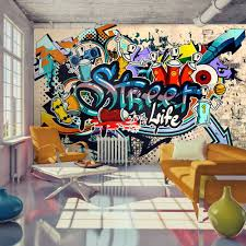 Fotobehang Street Life Graffiti Karo Art Vof