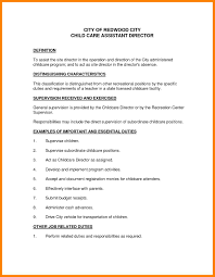 Daycare Resume Child Care Provider Resume Samples Create My