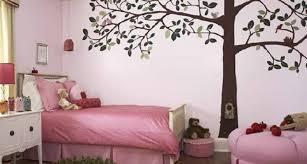 bedroom wall design ideas pink paint