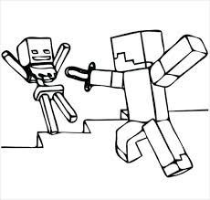 Minecraft Coloring Pages Zombie Pigman Largest Coloring Pages Zombie