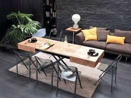 coffee tables for small spaces. Space Saving Tables Small Spaces A Coffee Table That Turns Into Dining Living Room For
