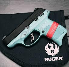 ruger lc9s vera blue pistol 9mm flat 7 rd