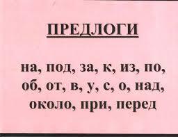 Конспект урока по русскому языку для начальных классов Предлог  чтение правила на стр 195