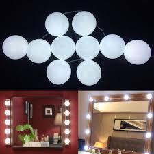 Walmart Lighting Kit Portable Make Up Lamp Dimmable Light Bulbs Led Cosmetic Mirror Lights Kit