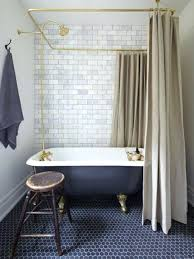 clawfoot tub curtain best images about bathroom idea on angle shower throughout immaculate shower curtain clawfoot