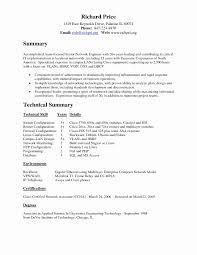 Ibm Resume Template Best of Network Engineer Cover Letters Unique Network Engineer Resume Sample