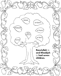 Islamic Coloring Pages For Kids Lesson Islam In Muslim Wumingme