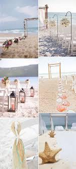 Beach Themed Wedding Idea