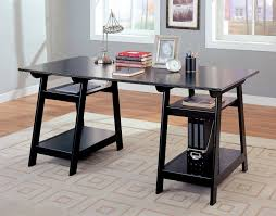 home office table. Delightful Decoration Black Office Table Home Desks | Decorator Shop Tables