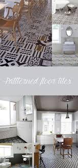 Patterned Floor Tiles Bathroom Lusting After Patterned Floor Tiles The Green Eyed Girl