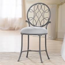 Metal Bedroom Vanity Vanity Chairs Iron Roun Wrought Stool Luvskcom