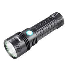 SKYWOLFEYE Đèn Pin LED Siêu Sáng Đèn Cắm Trại Đi Bộ Đường Dài Chiến Thuật  Công Suất Cao Tự Ánh Sáng Đèn Flash Có Thể Sạc Lại USB Nhấp Nháy Torch|LED  Flashlights