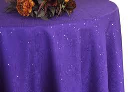 90 paillette poly flax burlap round tablecloths 10 colors