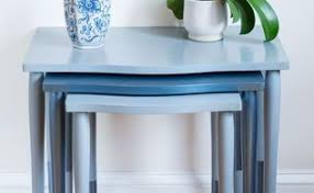 diy painted furniture ideas. 10 nesting tables makeover painted furniture diy ideas