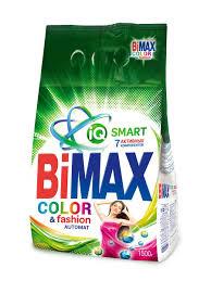 <b>Стиральный порошок Автомат</b>, Color & Fashion 1,5 кг <b>BIMAX</b> ...