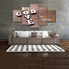 printed with aaa top quality canvas this is a wonderful gift for your friends parents in special occasions or you might want to keep it for yourself in  on large christian canvas wall art with christian home decor god love wall art large canvas 5 piece prints