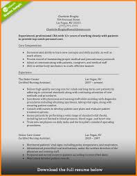 6 Cna Resume Examples Graphic Resume