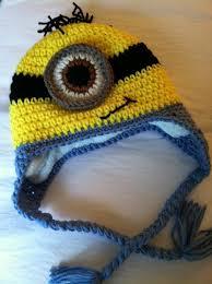 Minion Hat Crochet Pattern Classy Lakeview Cottage Kids Minion Earflap Hat FREE PATTERN