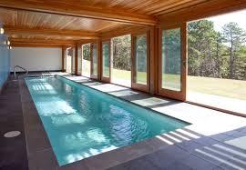 Indoor Outdoor Pool Residential Terrific Sliding Glass Doors Covering Indoor Swimming Pool For