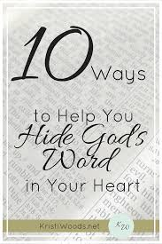 Microsoft Word Hearts 10 Ways To Help You Hide Gods Word In Your Heart Kristi Woods