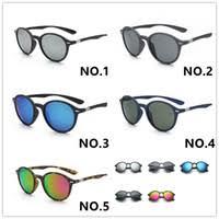 Discount Round Frame Sunglasses   Round Frame Mirror Women ...