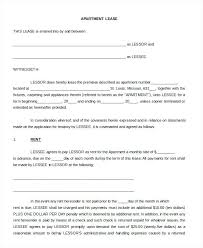 Printable Blank Lease Agreement Form Free Word Application Rental ...