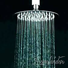 large shower head 1 ceiling rain with handheld 9 function led light best high pressure waterfall